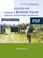 OP_Status of Indias Border Trade