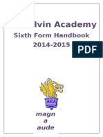 ARK Elvin Academy Parent Handbook Sixth Form