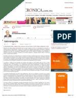 La Crónica de Hoy | Instituciones del Sistema Nacional Anticorrupción