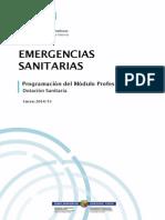 Dotación Sanitaria - Programación