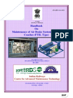LHB Handbook on Maintof Air Brake System in LHB Coaches (FTIL Type)(1)