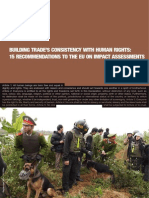 Building Trade's Consistency With Human Rights - 15 Recommendations to the Eu on Impact Assessments