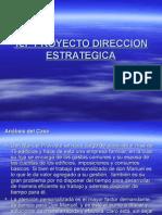 1er Proyecto Direccion Estrategica