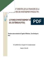 Mobiliser Er Orienter Flux Financiers Diaspora _Yaovi Bouka
