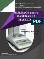 PresentationMASURAREA MASELOR- PADURET