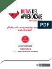 Fascículo de Rutas del Aprendizaje 2015 Nivel de Educación Primaria