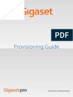 Gigaset Provisioning Guide
