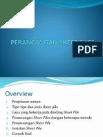 Perancangan Sheet Pile