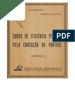 L02 Curso de Eficiência Pessoal Pela Educação Da Vontade (Alberto Montalvão)