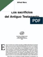 ALFRED MARX_Los Sacrificios Del Antiguo Testamento