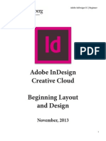 Adobe InDesign Beginner Tutorial