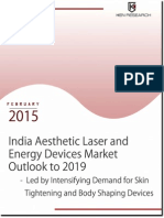 Market Report - India Aesthetic Lasers and Energy Devices Sector