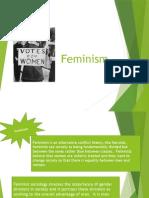 3 - feminism & interactionism