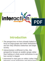 4 - interactionism