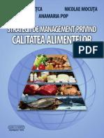 Strategii de Management Privind Calitatea Alimentelor