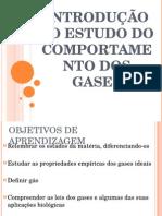 Introdução Ao Estudo Do Comportamento Dos Gases 1