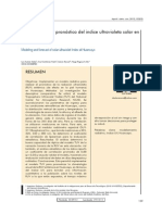 Indice UV en Huancayo