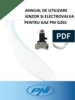 Manual Utilizare Kit Gaz Pni Gz01