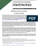 Uspon Kineske Ekonomije PDF