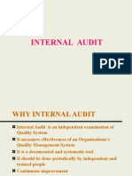 Why Internal Audit