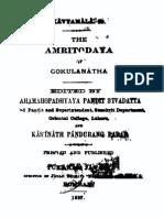 Amṛtodaya