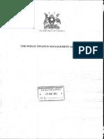 Public Finance Management Act 2015
