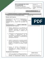 Guia de Aprendizaje Facilitar El Servicio Al Cliente Gestión Empresarial Ficha 813241