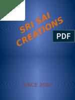 sri sai creations profile