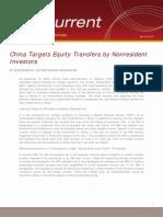 Transfer of Capital Prc