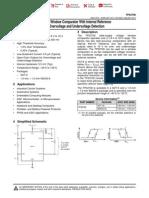 Tps3700 Window Comparator