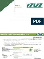 Mos Excel 2010 Utvt