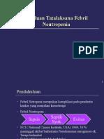 Febrile Neutropenia Updates