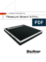 Manual PleasureBoard