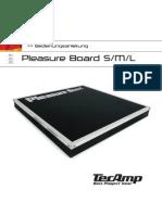 Manual PleasureBoard