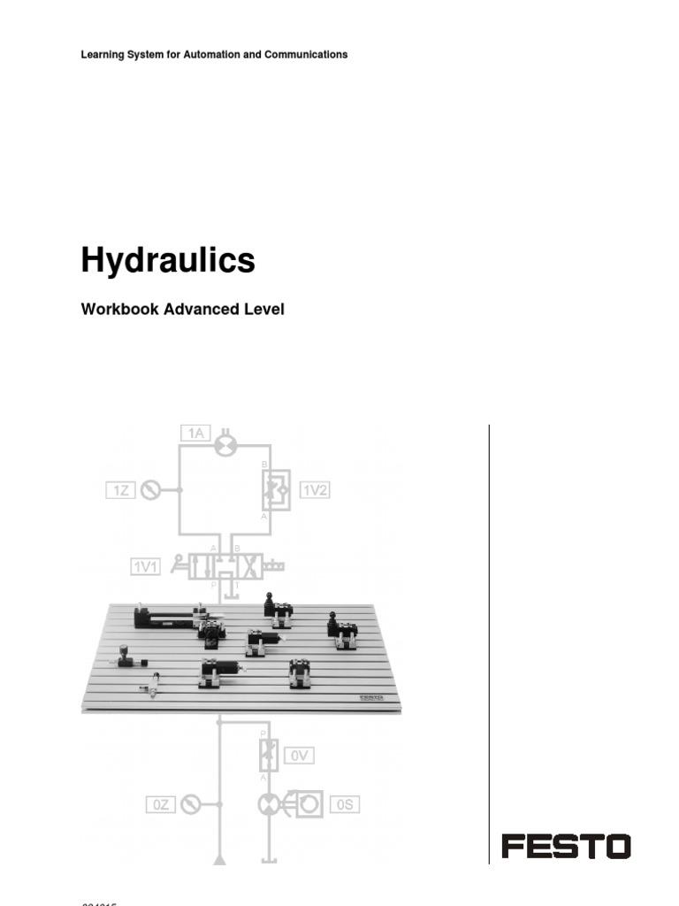 festo hydraulics advanced level valve pump rh scribd com Festo 150362 Festo Air Cylinder