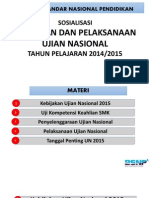 Sosialisasi Ujian Nasional Tahun 2015 Edit
