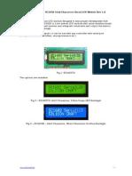 SC1602 16x2 Characters Serial LCD Module