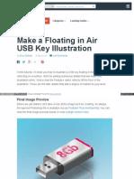 Make a Floating in Air Usb Key