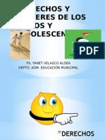 Derechos y Deberes de Los Niños y Adolescentes Yanet Velasco