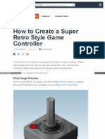 How to Create a Game Controller in Photoshop