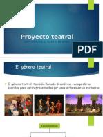 Proyecto teatral