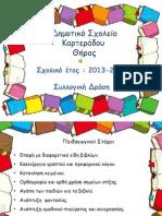 Δ. Σχ. Καρτεράδου-ΕΚΘΕΣΗ ΒΙΒΛΙΟΥ 2014