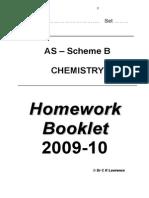 Homework Booklet [B]