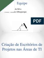 Criação de Escritórios de Projetos Nas Áreas De