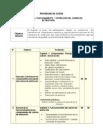 Estructura, Funcionamiento y Operación Del Camión de Extracción