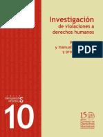 10 Investigacion de Violaciones