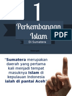 Perkembangan Islam Di Sumatera