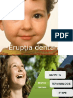 Eruptia Dentara 2014 an IV