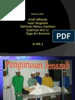 presentasi pengurusan jenazah