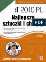 Excel 2010 Pl Najlepsze Sztuczki i Chwyty Vademecum Walkenbacha John Walkenbach Helion.pl